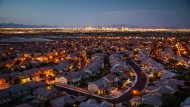 Selbst in Las Vegas steigen die Preise wieder: Der Häusermarkt des Spielerparadieses war von der Finanzkrise besonders stark betroffen.