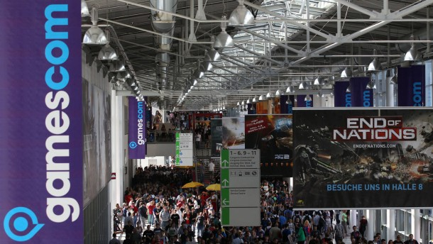 Gamescom in Köln eröffnet