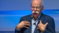 Daimler-Chef Zetsche: Die Aktie der Schwaben ist belietbt.
