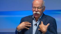 Daimler-Chef Zetsche soll Vorsitz im Aufsichtsrat von Tui übernehmen