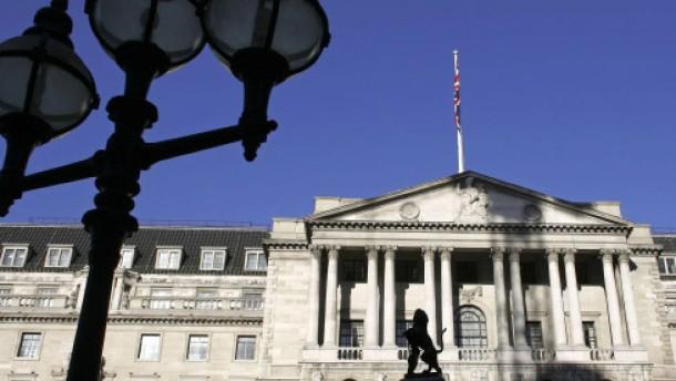 Bank von England bekommt Hilfe