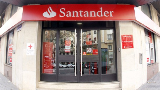 Santander's branch office in Madrid