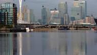 Canary Wharf - das Londoner Finanzzentrum.
