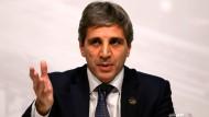 War nicht lange im Amt: Argentiniens Zentralbankchef Luis Caputo ist zurückgetreten.