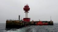 Lotsen-Stewardess im Leuchtturm