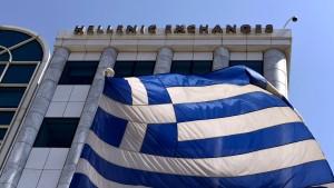 Italien-Sorge befällt auch griechische Bankaktien