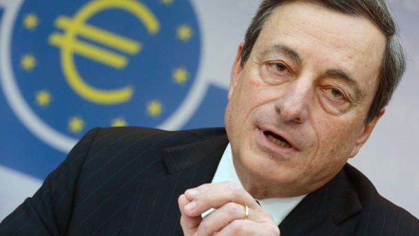 Draghi mahnt zügige Sepa-Umstellung an