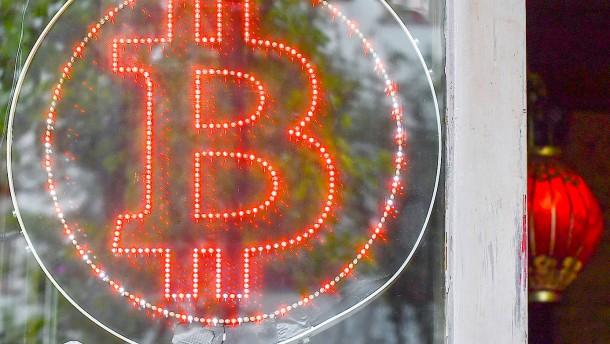 Bitcoin auf höchstem Stand seit Anfang 2018