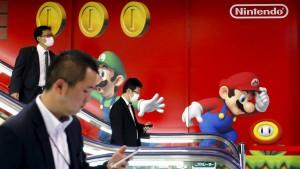 Die Börse in Tokio feiert Nintendo