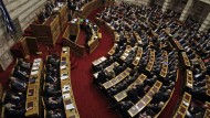 Athener Börse stürzt ab
