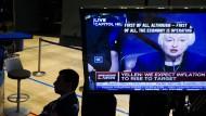 Anleger warten heute gespannt auf die Entscheidung der amerikanischen Notenbank zu den Leitzinsen.