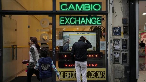 Schon wieder Währungsturbulenzen um Argentinien