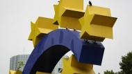 Der Euro ist auf dem Rückzug
