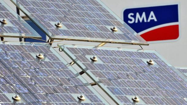 SMA Solar nach Einstieg von Danfoss an der Spitze