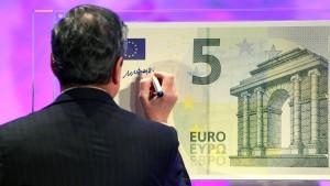 EZB stellt neue Euro-Banknoten vor
