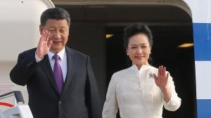 Chinas Staatschef besucht Berlin