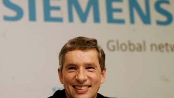 Siemens-Aktie drängt nach oben