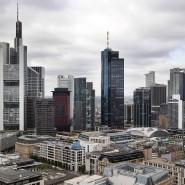 Frankfurts Banken-Skyline.