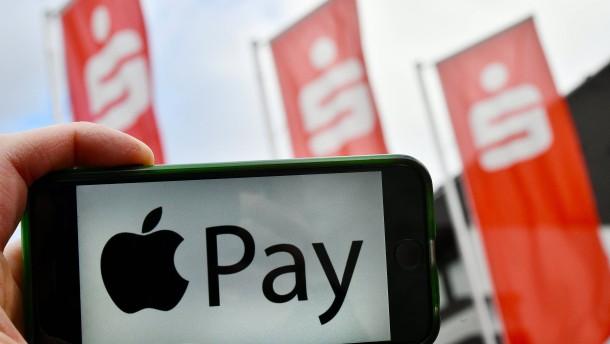 Apple Pay funktioniert jetzt auch mit der Sparkassen-Girokarte