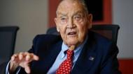 Jack Bogle, der Gründer des amerikanischen Finanzdienstleisters Vanguard Group, ist am Mittwoch gestorben.