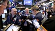 An der New Yorker Wall Street ist der Anstieg der Rendite 10-jähriger amerikanischer Staatsanleihen im Fokus.