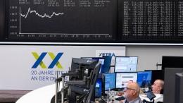 Deutsche Aktien leicht im Minus