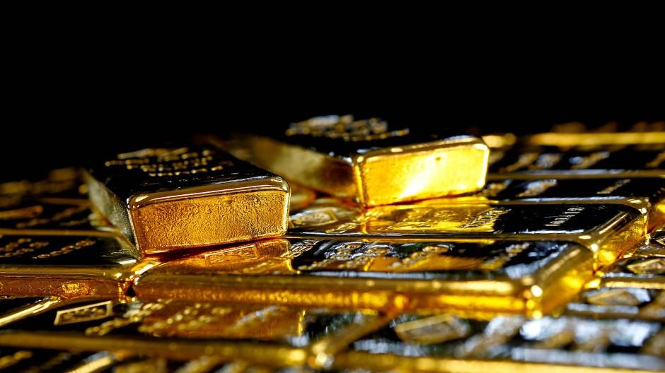 Nach Golde drängt, am Golde hängt doch alles: Goldbarren in Österreich.