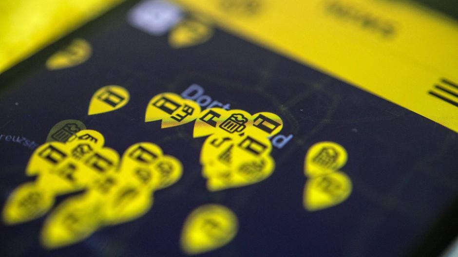 BVB-App: Spieltage derzeit nur noch digital