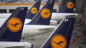 Lufthansa ziehen deutlich an