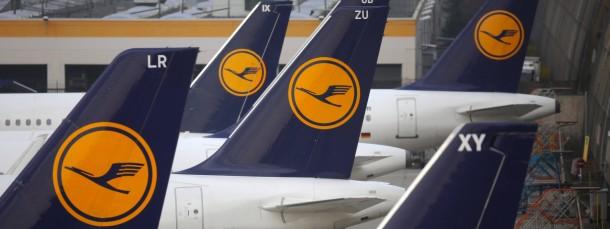 Lufthansa-Aktien waren am Mittwoch gesucht.