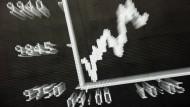 An der Börse sind weiterhin starke Nerven gefragt