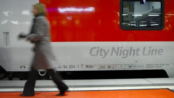 Bahn soll neues Konzept für Nachtzüge vorlegen