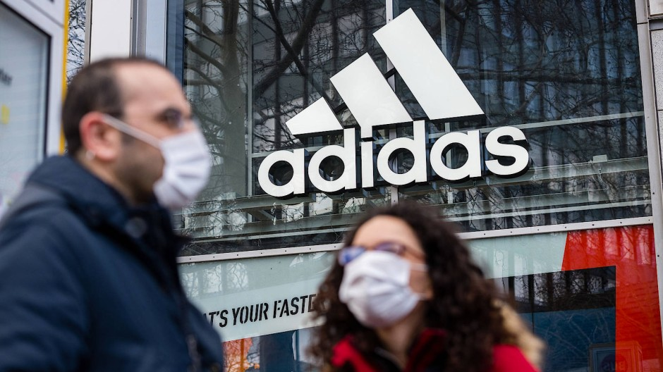 Geschlossen: Adidas-Shop in Berlin