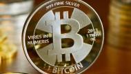 Der Bitcoin-Kurs ist zuletzt deutlich gefallen.
