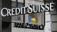 Eine Filiale der Credit Suisse in Zürich