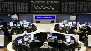 Deutsche Aktien im Aufwind