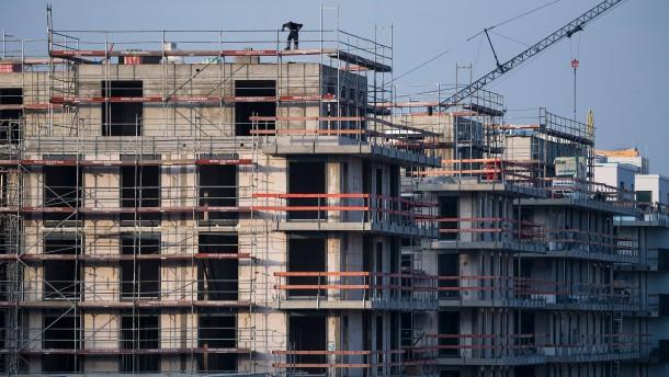 Darum lahmt der Wohnungsbau