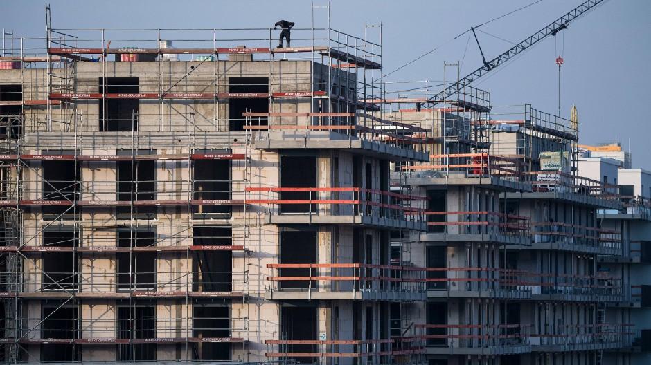 Weniger gefragt: Wohnbauprojekt in Berlin-Schöneberg