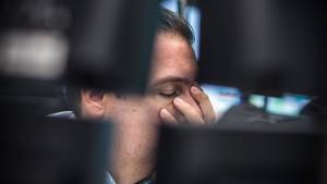Konjunkturängste vernichten Dax-Gewinn eines Jahres