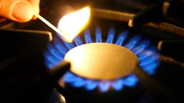 Gaspreise sinken auf tiefsten Stand seit zwölf Jahren