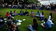 Studenten der University of California, Berkeley