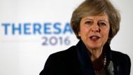 Machtwechsel auf der Insel: Cameron übergibt an May