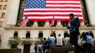 Die New Yorker Börse an der Wall Street.