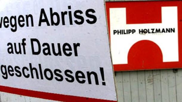 Holzmann-Aktie im Sturzflug