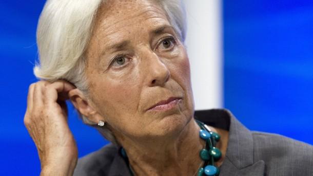 IWF-Chefin Lagarde vor Gericht