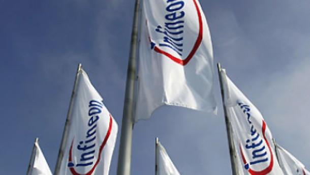 Infineon-Aktie auf schwerem Weg