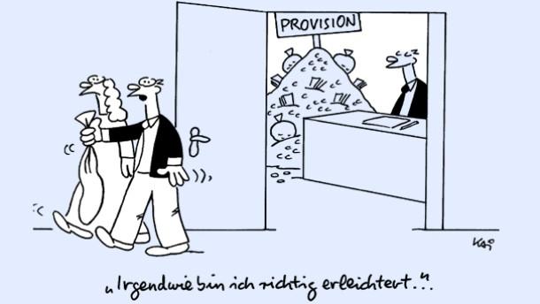 Provisionen sind als Anlagekriterium überschätzt