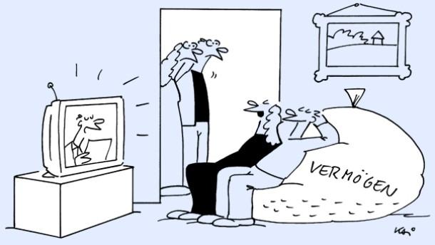 Karikatur / Kai / Besser, als es falsch anzulegen