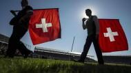 Die Währungshüter in der Schweiz atmen auf: Der Franken wird wieder stärker.
