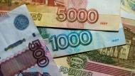 Russische Märkte im freien Fall